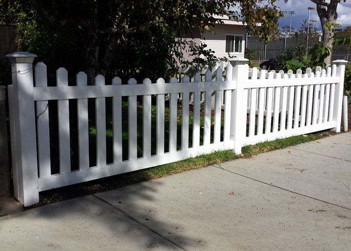 white fence post. Customized Vinyl Picket Fence Post Caps White