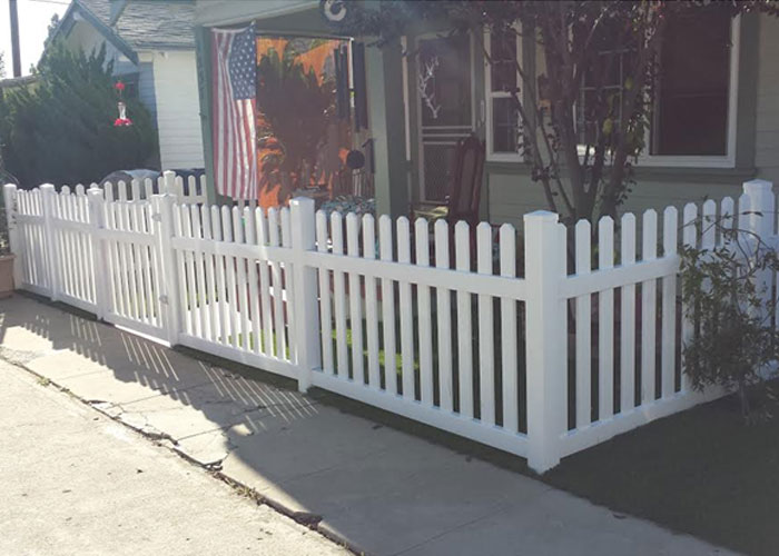 Maintenance-Free Vinyl Picket Fencing