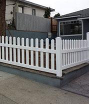 Wooden Picket Fences