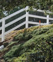 Encino 3 Rail Fence