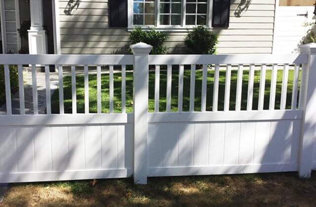Custom Semi-Privacy Fence