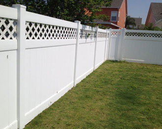 Long Lasting Semi Vinyl Fence