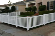 Vinyl Picket Fence Contractor